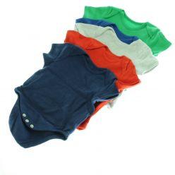 5ks barevných body - 2x modré, šedivé, červené, zelené