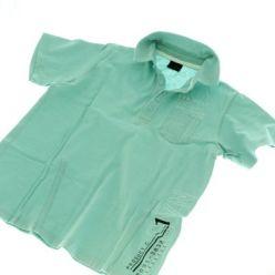 Modré triko s límečkem NEXT