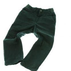 Proužkaté černo šedivé kalhoty Next