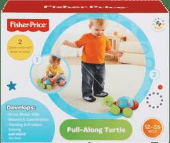 FISHER-PRICE Tahací želvička