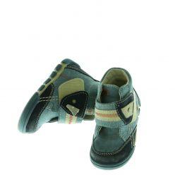 Kotníkové boty modré - na suchý zip