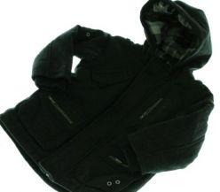 Černý kabát/bunda NEXT