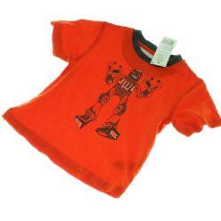 Oranžové triko s robotem F&F