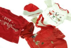 Vánoční sada 3 x triko čepička a ponožky