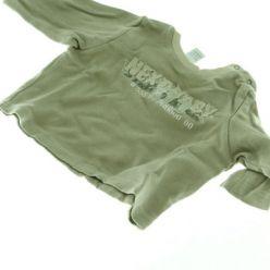 Hnědé triko Next s nápisem