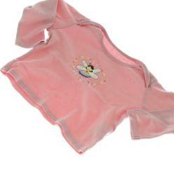 Růžové tričko s vílou dl. rukáv