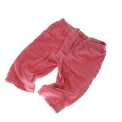Růžové bavlněné tepláky tenké F&F