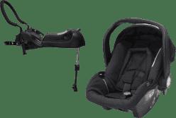 AXKID Babyfix autosedačka 0 - 13 kg Black + Babyfix základňa (ISOFIX / Pás) Black