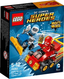 LEGO® Super Heroes Mighty Micros: Flash kontra Kapitan Cold