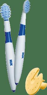 NUK Zubní kartáček + Masážní Kartáček