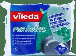 VILEDA PUR active houbička střední (2 ks)