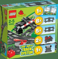 LEGO® DUPLO® Tory kolejowe