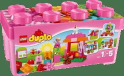 LEGO® DUPLO® Różowe pudełko pełne zabawy