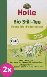 2x HOLLE Bio-čaj pre dojčiace mamičky, 30g