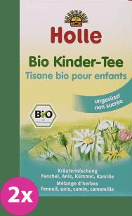 2x HOLLE Bio dětský čaj, 30g