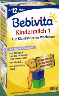 BEBIVITA JUNIOR 1+ (500g) - dojčenské mlieko