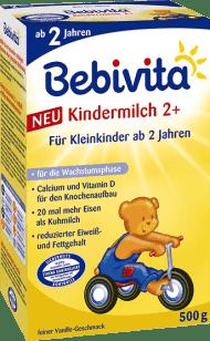 BEBIVITA JUNIOR 2+ (500g) - dojčenské mlieko