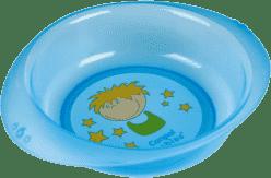 CANPOL Babies Plastová miska chlapček / dievčatko, Piráti - modrá