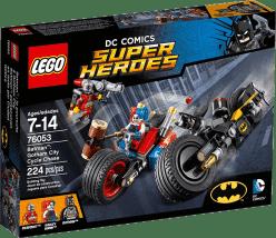 LEGO® Super Heroes Batman™: Motocyklová honička v Gotham City