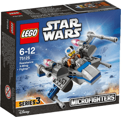 LEGO® Star Wars TM Confidential Microfighter Hero Starfighter