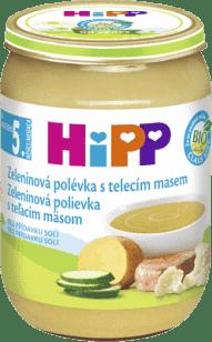 HIPP BIO Zeleninová polévka s telecím masem (190 g)