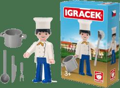 IGRÁČEK Kuchař s doplňky