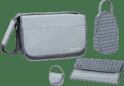 BABYMOOV Prebaľovacia taška Messenger Bag, Zinc / Aqua