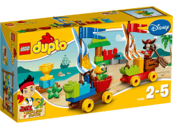 LEGO® DUPLO® Preteky na pláži