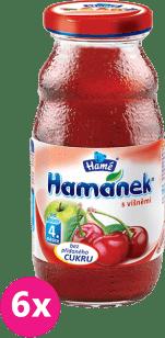 6x HAMÁNEK nápoj s višněmi 210ml - nápoj