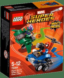 LEGO® Super Heroes Mighty Micros: Spiderman kontra Zielony Goblin