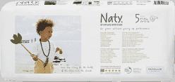 NATY NATURE BABYCARE JUNIOR 5, 42 ks (11 - 25 kg) ECONOMY PACK - jednorázové plienky