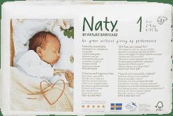 NATY NATURE BABYCARE Newborn 2-5 kg (26 ks) - jednorázové plienky