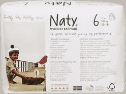 NATY NATURE BABYCARE PANTS 6, 18 ks (16+ kg) - plienkové nohavičky
