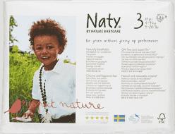 NATY NATURE BABYCARE 3 MIDI, 31 ks (4 - 9 kg) - jednorázové pleny