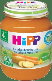 HIPP BIO zeleninový príkrm Karotka so zemiakmi 125g