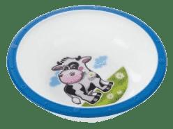 CANPOL Babies Plastová miska s protiskluzovým dnem – modrá