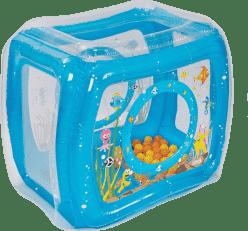 LUDI Nafukovací hrací stan Moře + míčky 50 ks