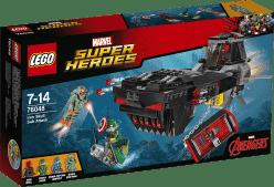 LEGO® Super Heroes Útok s ponorkou Iron Skulla
