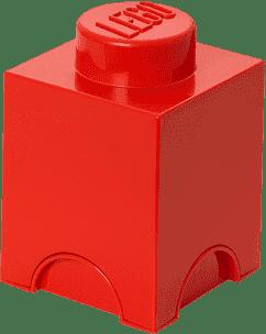 LEGO® Box do przechowywania rozmiar 1 czerwony