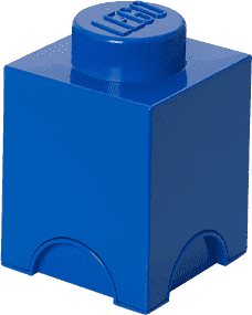 LEGO® Úložný box velikost 1 modrá