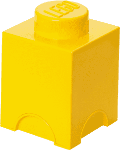 LEGO® Úložný box velikost 1 žlutá