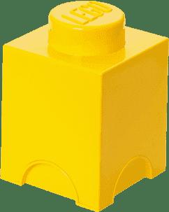 LEGO® Úložný box veľkosť 1 žltá