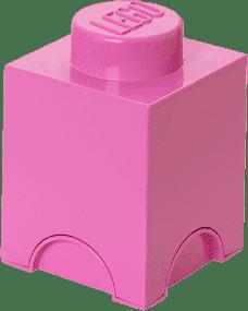 LEGO® Box do przechowywania rozmiar 1 różowy