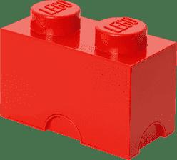 LEGO® Úložný box veľkosť 2 červená