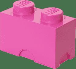 LEGO® Úložný box veľkosť 2 ružová