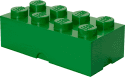 LEGO® Úložný box veľkosť 4 tmavo zelená