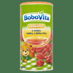 BOBOVITA Herbatka o smaku maliny z dziką różą (200g)