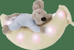 ANSMANN Plyšové zvieratko so svetielkom - myška na mesiaci
