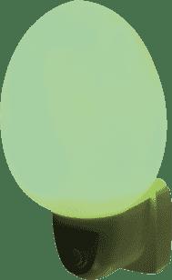 ANSMANN Svetlo do detskej izby, vajíčko – zelené