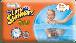 HUGGIES® Little Swimmers vel.5-6 (12-18kg) 11ks - jednorázové pleny do vody